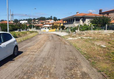 Obras em marcha na urbanização de  Vilacetinho em Alpendorada, Várzea e Torrão